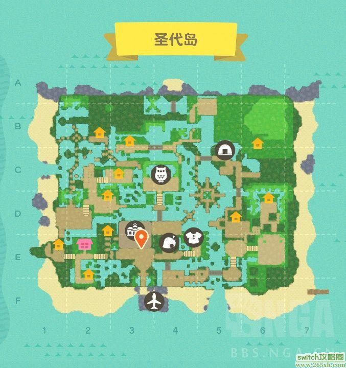 动森岛屿设计高级教程:花园都市